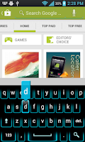 Screenshot of Ultra Neon Keyboard