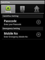 Screenshot of Phone Locator and SIM Detector