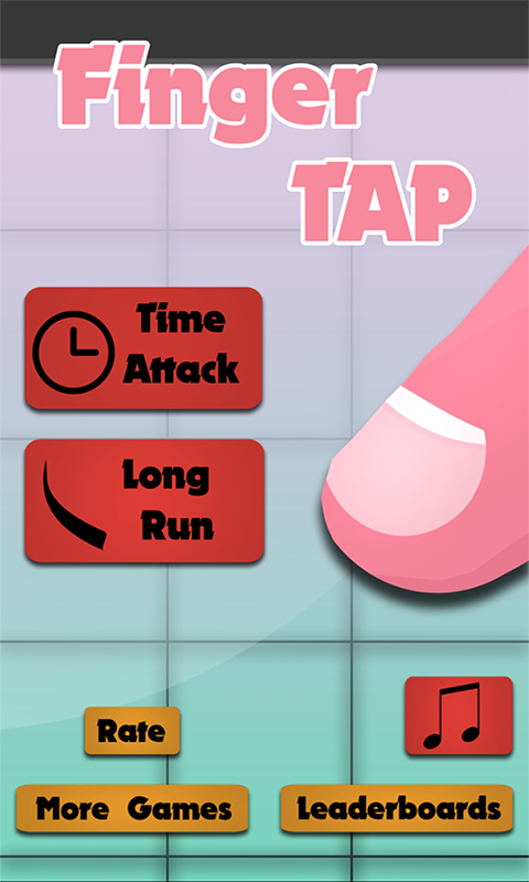 Finger Tap Screenshot