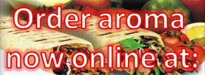 order online take away hungryhouse hungry house aroma kebab Justeat just eat just-eat shawarma aroma mediterranean turkish food