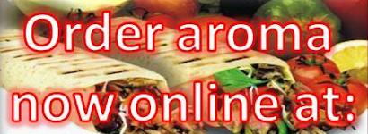 order online take away hungryhouse hungry house aroma kebab Justeat just eat just-eat shawarma aroma mediterranean turkish food