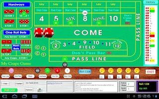 Screenshot of My Craps Game 1280x800 Tablet