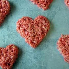 Valentine's Day Krispie Treat Hearts