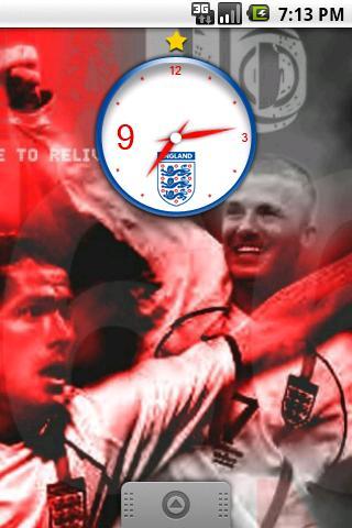 World Cup Clock England