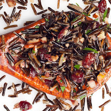 Wild Rice, Pecan, and Cranberry Salad Recipe