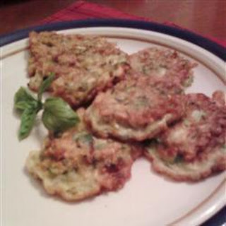 Deep-Fried Courgette Fritters