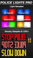 Screenshot of Police Lights Pro