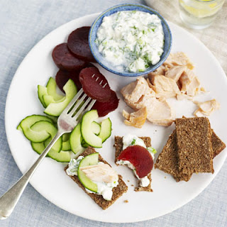 Super-quick Scandi supper