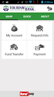 Screenshot of TDBL Mobile Banking