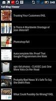 Screenshot of Fail Blog
