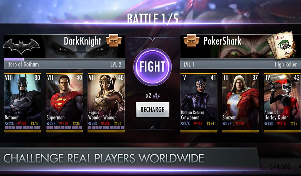 Injustice gods among us android apk