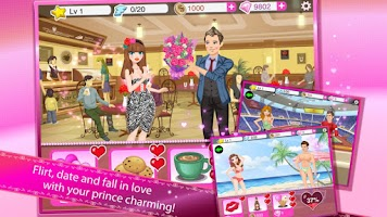 Screenshot of Star Girl: Valentine Hearts
