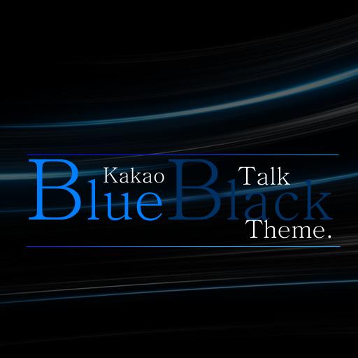 AX3 KakaoTalk - BlueBlack EX LOGO-APP點子
