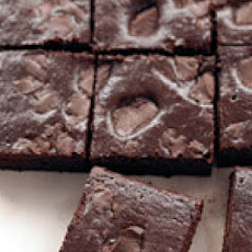 Dark-Chocolate Chunk Brownies