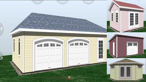 Udesignit 3D Garage Shed