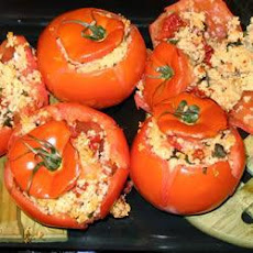 Vegetarian Couscous Stuffed Tomatoes