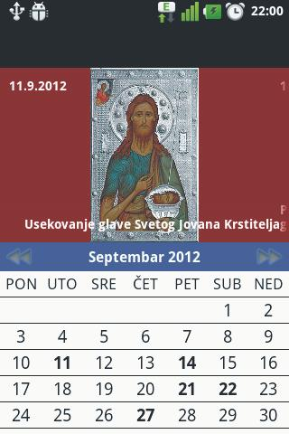 Pravoslavni Kalendar