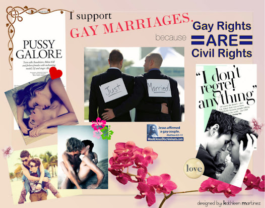 Pros And Cons Of Gay Marriages Written By Kathleen Martinez July