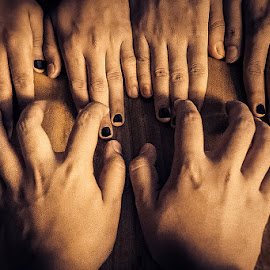 Music in our Soul by Maitreya Rajan Mahanta - People Body Parts ( music, piano, hands, soul, people )