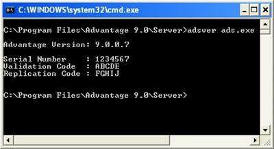 Adsver output