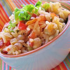 Bahamian Style Peas and Rice