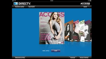 Screenshot of APP ACCESS DIRECTV