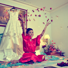 Happy Bride by Jessie Lebante - Wedding Bride