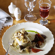 Halibut With Mushrooms