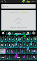 Screenshot of Colors Keyboard Neon