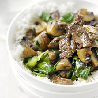Beef With Mushroom With Oyster Sauce Recipes