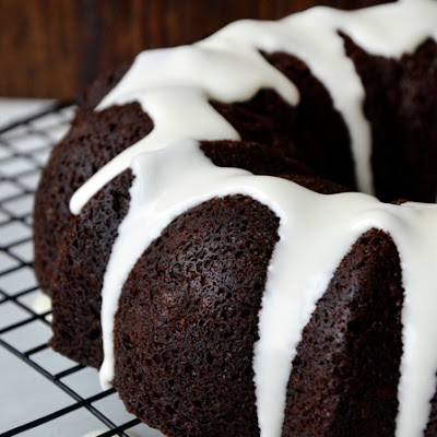 Chocolate Gingerbread Bundt Cake