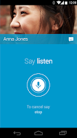 Screenshot of Moto Voice