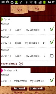 Schoolplanner Timetable - screenshot