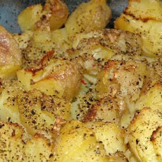 Garlic Smashed Potatoes