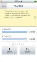 Screenshot of 스마트 스피킹 TOEFL