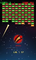 Screenshot of Space Bricks Breaker
