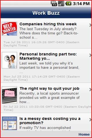 【免費商業App】WORK BUZZ-APP點子
