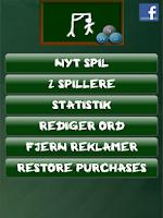 Screenshot of Hangman (Danish)