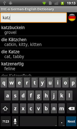 German - English offline dict. for PC