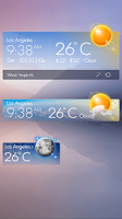 Screenshot of Glass View Theme GOWeather