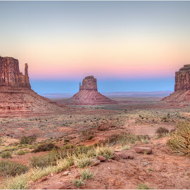 Monument Valley Twilight by Dennis Ba - Landscapes Travel