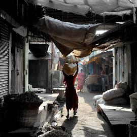 street life by Ravi Tez - City,  Street & Park  Street Scenes