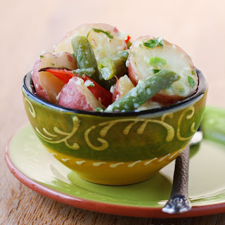 Potato-Green Bean Salad with Lemon and Basil
