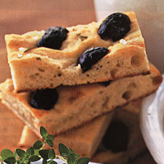 Rosemary Focaccia with Olives