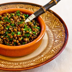Indian Spiced Lentils
