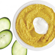 Curried Chickpea-Yogurt Dip