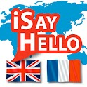iSayHello English - French