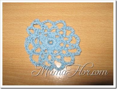 Tejidos a Crochet: Una Pastilla en forma de una Flor…