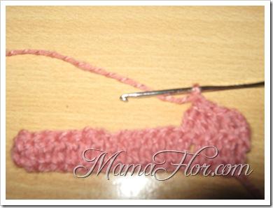 Puntos a Crochet: Tres Puntos Altos Cerrados Juntos…