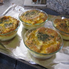 Easy Ham, Cheese, Egg Quiche